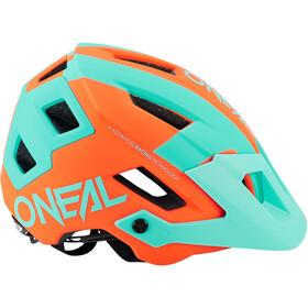 O'Neal Defender 2.0 Casco, sliver orange/teal